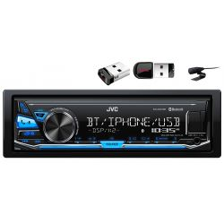 RADIO JVC KD-X341BT BLUETOOTH USB MP3 FLAC + 16GB