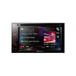 PIONEER AVH-180DVD RADIO 2DIN DVD CD USB MP3