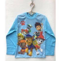 Modna śliczna bluzeczka Psi Patrol  wzrost 128