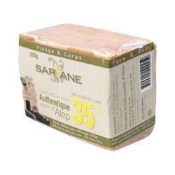 Mydło z Aleppo 20% SARYANE niealergiczne 200g