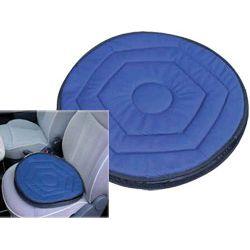 Poduszka obrotowa z elastyczną podstawą - np. do samochodu