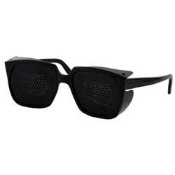 Korekcyjne okulary niesoczewkowe Jaganath z przesłonami