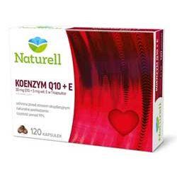 Naturell Koenzym Q-10 - wspomaga serce, naczynia krwionośne i dziąsła