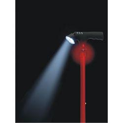 Laska inwalidzka ELECTRA z latarką i sygnałem alarmowym Historyczne