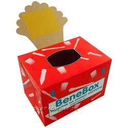 BeneBox Tekturowy pojemnik na odpady medyczne z workiem 4L