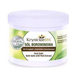 Krynickie SPA sól borowinowa do kąpieli - klasyczna 500ml Historyczne