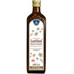 LenVitol - olej lniany tłoczony na zimno