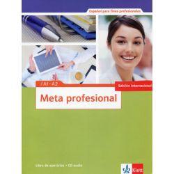 Meta profesional. Nivel A1-A2. Libro De Ejercicios + CD - Opracowanie zbiorowe