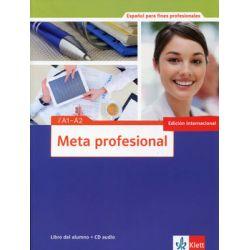 Meta profesional. Nivel A1-A2. Libro Del Alumno + CD - Opracowanie zbiorowe