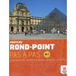 Noveau Rond-Point. Pas a Pas. Język francuski. Podręcznik. B1.1 + CD - Opracowanie zbiorowe
