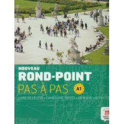 Noveau Rond-Point Pas a Pas A1. Livre de l'eleve + Cahier d'activites + CD - Labascuole Josiane