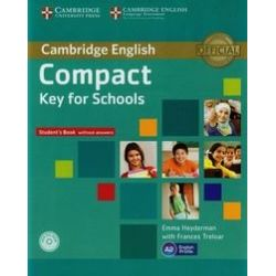 Compact Key for Schools. Student's Book without answers. Poziom A2 + CD - Heyderman Emma