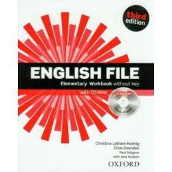 English File Elementary. Workbook without key + CD - Opracowanie zbiorowe