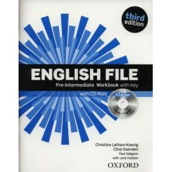 English File Pre-Intermediate. Workbook with key + CD - Latham-Koenig Christina
