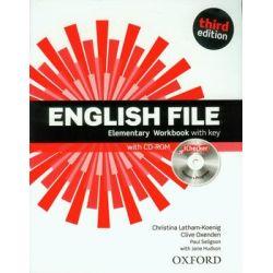 English File Elementary. Workbook with key + CD - Opracowanie zbiorowe