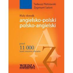 Mały słownik angielsko-polski, polsko-angielski - Piotrowski Tadeusz