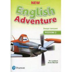 New English Adventure. Poziom 2. Zeszyt ćwiczeń + DVD - Lambert Viv