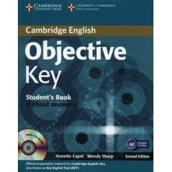 Objective Key A2 Student's Book without answers +CD - Capel Annette