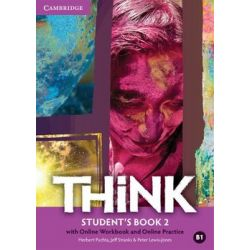 Think 2. Student's Book with Online Workbook and Online Practice. Poziom B1 - Puchta Herbert
