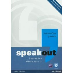 Speakout Intermediate Workbook with key + CD - Clare Antonia