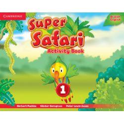 Super Safari 1. Activity Book - Herbert Puchta Książki do nauki języka obcego