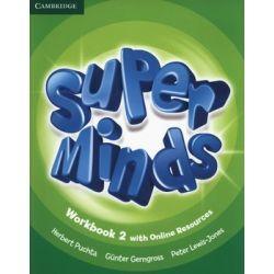 Super Minds 2. Zeszyt ćwiczeń. Część 2 - Puchta Herbert Książki do nauki języka obcego