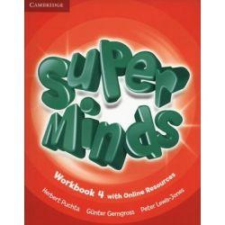 Super Minds 4. Zeszyt ćwiczeń. Część 4 - Puchta Herbert Książki do nauki języka obcego
