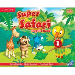Super Safari 1. Pupil's Book + DVD - Puchta Herbert Książki do nauki języka obcego