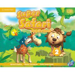 Super Safari 2. Pupil's Book + DVD - Puchta Herbert Książki do nauki języka obcego
