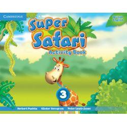 Super Safari 3. Activity Book - Puchta Herbert Książki do nauki języka obcego