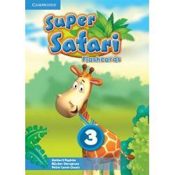 Super Safari 3. Flashcards - Puchta Herbert Książki do nauki języka obcego