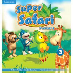 Super Safari 3. Posters - Puchta Herbert Książki do nauki języka obcego