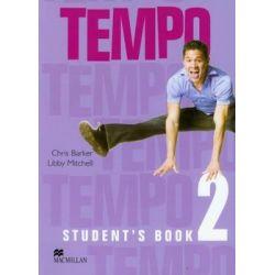 Tempo 2 Student's Book - Barker Chris Książki do nauki języka obcego