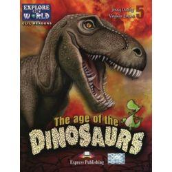 The Age of the Dinosaurs. Poziom 5 - Evans Virginia Książki do nauki języka obcego