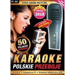 Karaoke Polskie Przeboje - Edycja 2018 + mikrofon (PC/DVD) - Avalon
