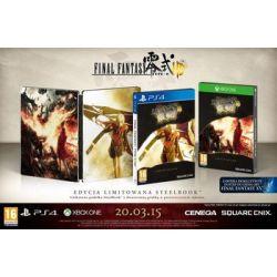 Final Fantasy Type-0 HD - Edycja Steelbook (PlayStation 4) - Square Enix
