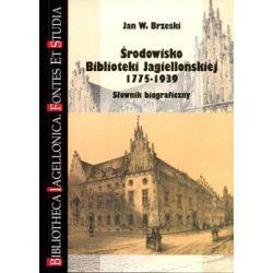 Środowisko Biblioteki Jagiellońskiej 1775-1939. Słownik biograficzny - Brzeski Jan