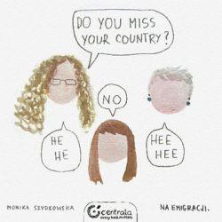 Do you miss your country? - Szydłowska Monika Pozostałe