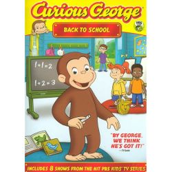 Curious George: Back To School (DVD 2010)