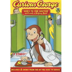 Curious George: Goes To The Doctor And Lends A Helping Hand (DVD 2008)