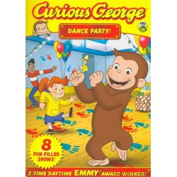 Curious George: Dance Party (DVD)