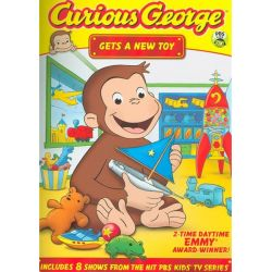 Curious George: Gets A New Toy (DVD 2011)