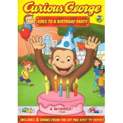 Curious George: Goes To A Birthday Party (DVD 2010)