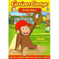Curious George: Plays Ball! (DVD 2011)