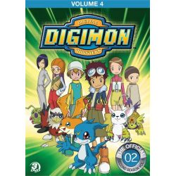 Digimon Adventure: Volume Four (DVD) Country
