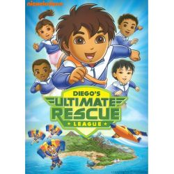 Go Diego Go!: Diego's Ultimate Rescue League (DVD 2010)