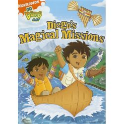 Go Diego Go!: Magical Missions (DVD 2007)