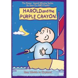 Harold And The Purple Crayon: New Worlds To Explore (DVD 2002)