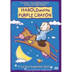 Harold And The Purple Crayon: Let Your Imagination Soar! (DVD 2002)