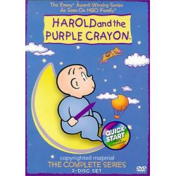 Harold And The Purple Crayon: The Complete Series (DVD 2001)